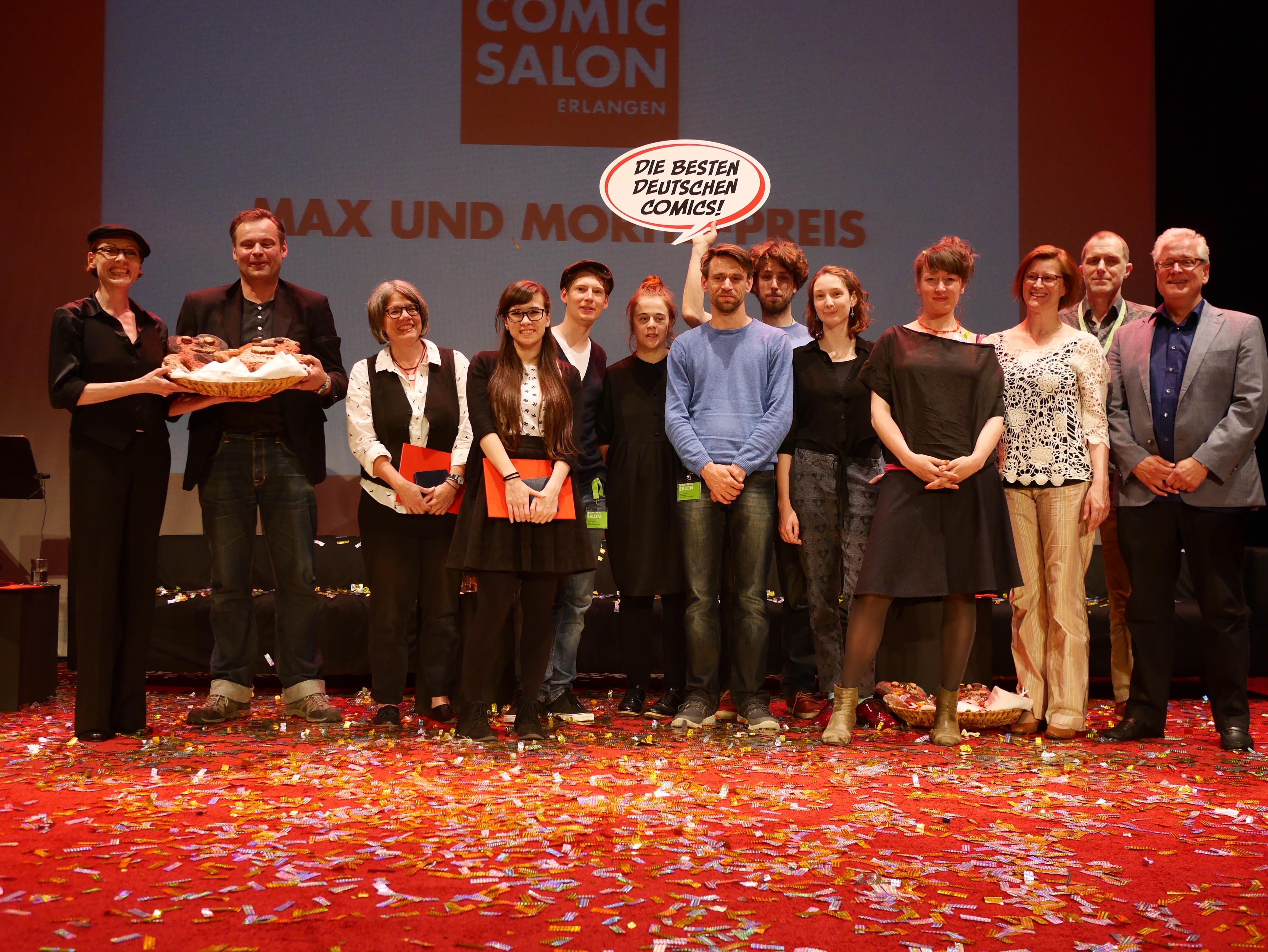 Die deutschsprachigen Preisträger 2016
